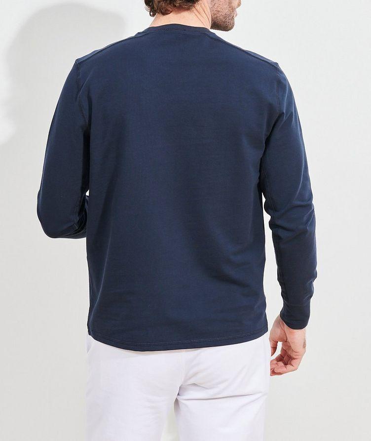 Stretch-Pima Cotton Sweatshirt image 3