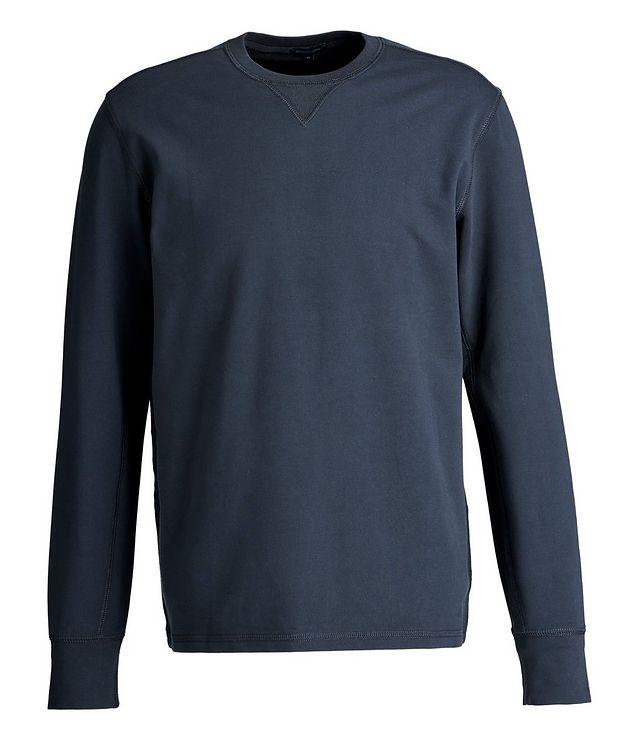 Stretch-Pima Cotton Sweatshirt picture 1
