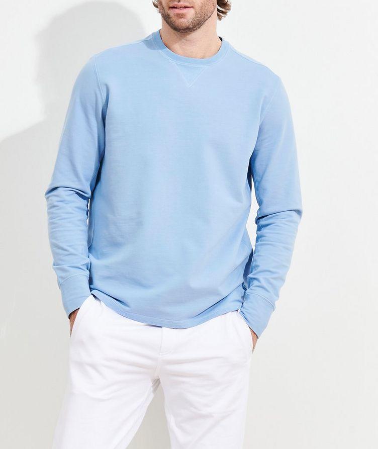 Stretch-Pima Cotton Sweatshirt image 1