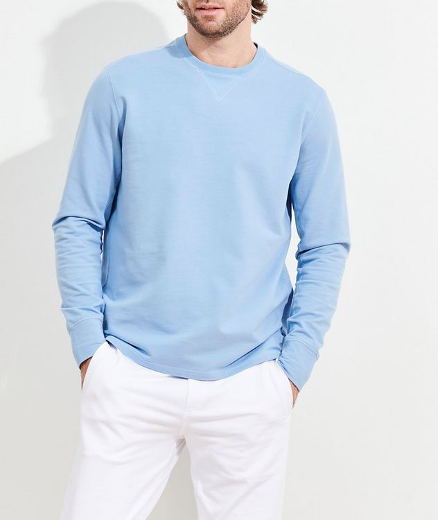 Stretch-Pima Cotton Sweatshirt picture 2