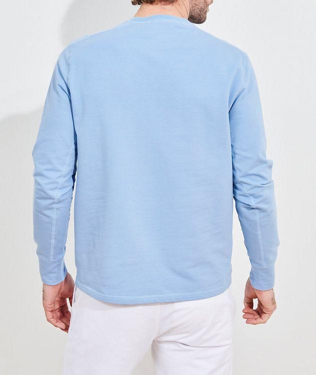 Stretch-Pima Cotton Sweatshirt picture 4
