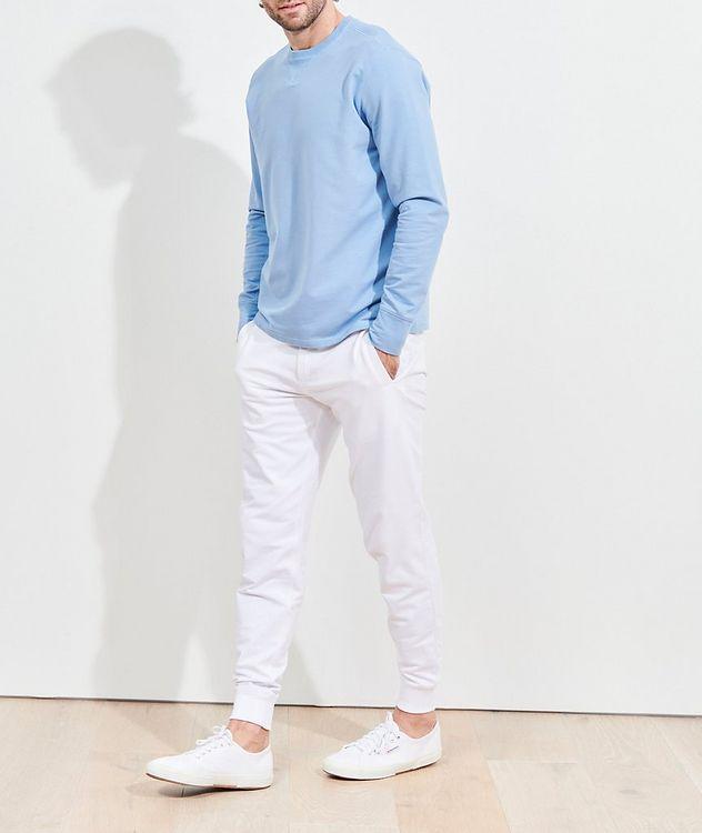 Stretch-Pima Cotton Sweatshirt picture 5