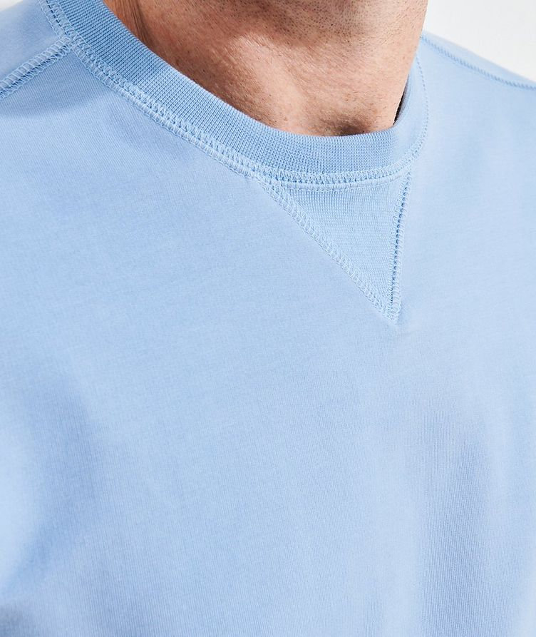 Stretch-Pima Cotton Sweatshirt image 5