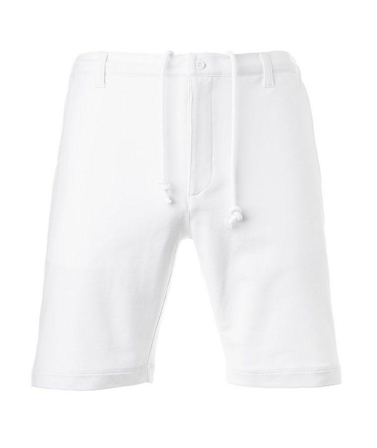 Stretch-Pima Cotton Shorts image 0