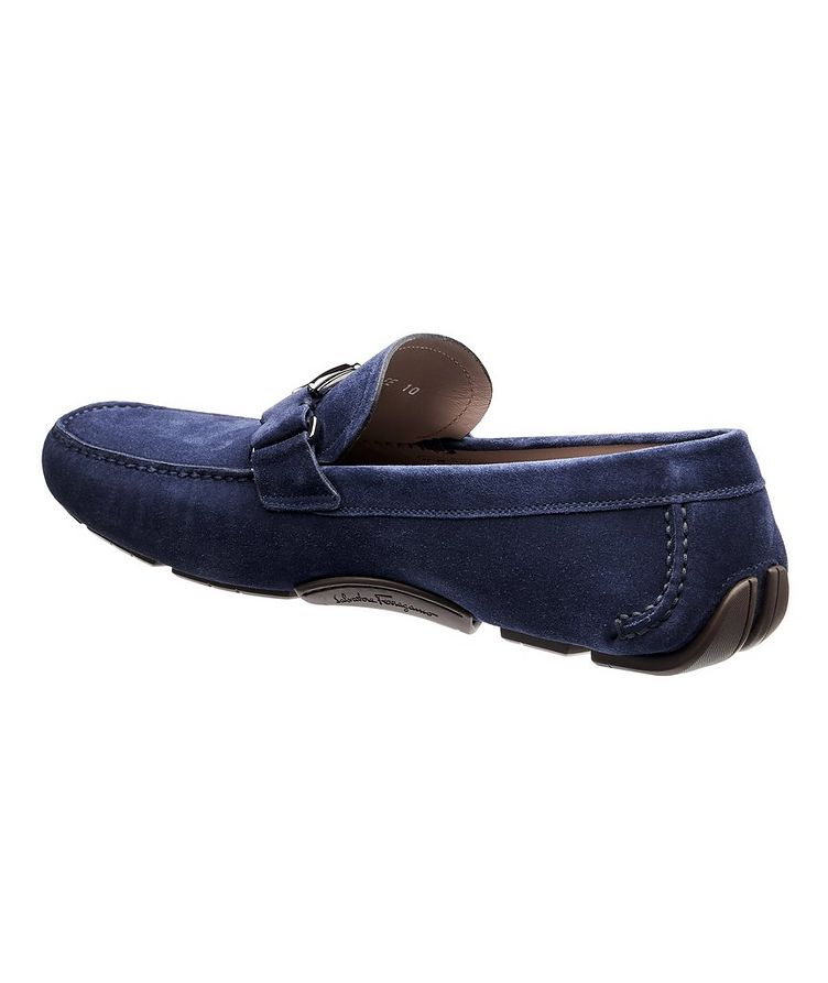 Peter Calfskin Suede Driving Shoes image 1