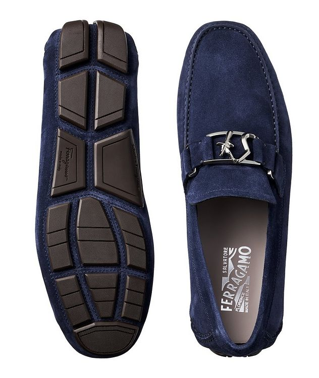 Peter Calfskin Suede Driving Shoes picture 3