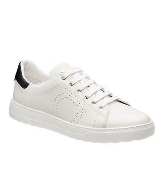 Salvatore Ferragamo Pierre Leather Sneakers