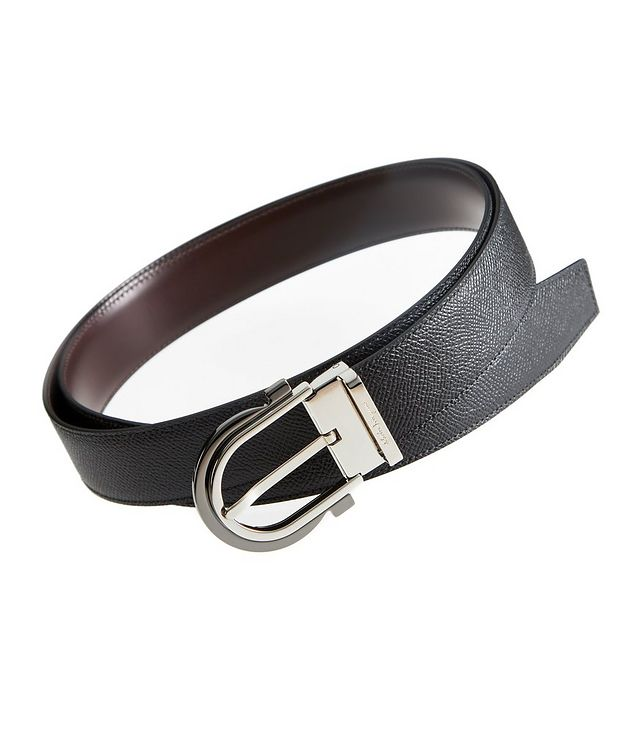 Reversible Gancini Leather Belt picture 1