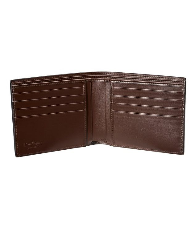 Gancini Embossed Leather Bifold Wallet picture 2