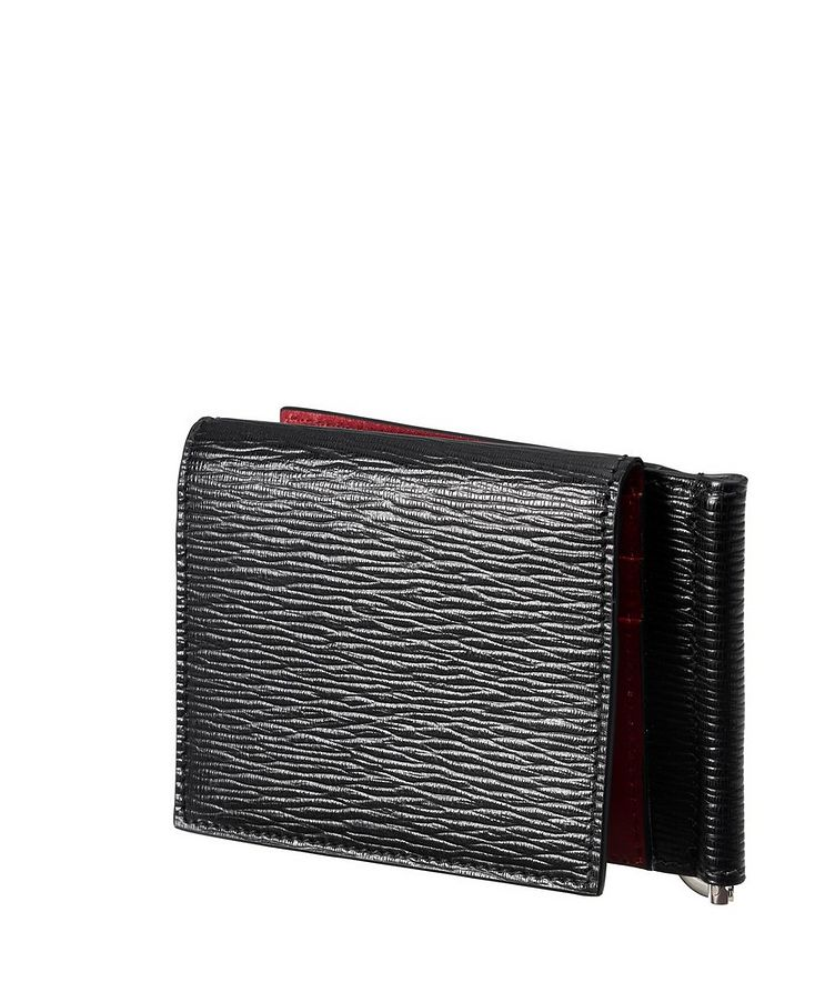 Leather Bifold Wallet with Money Clip image 2
