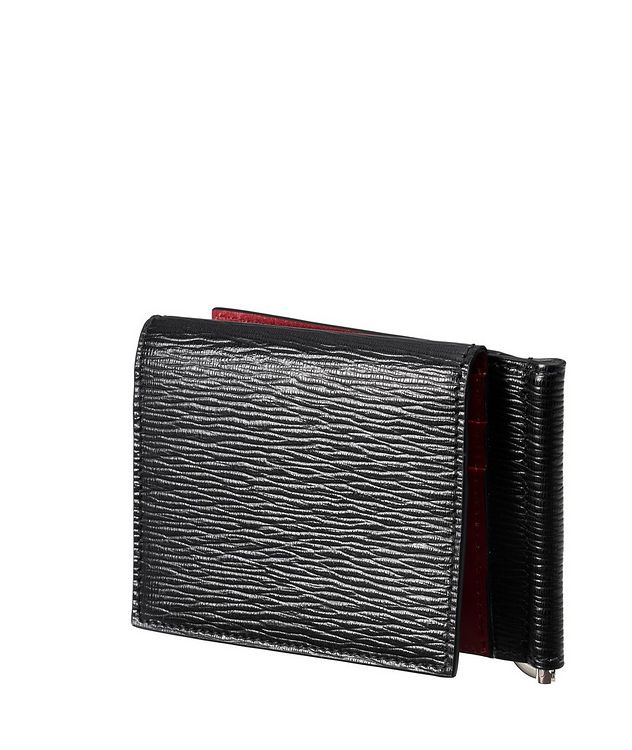 Leather Bifold Wallet with Money Clip picture 3