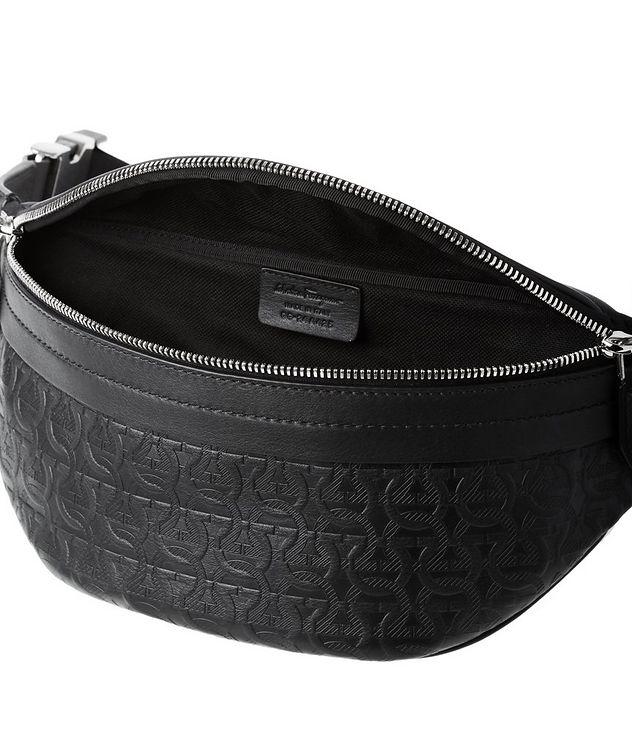 Gancini Embossed Leather Belt Bag picture 3