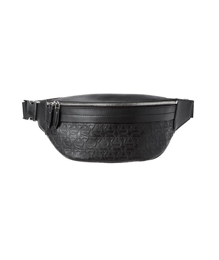 Gancini Embossed Leather Belt Bag image 0