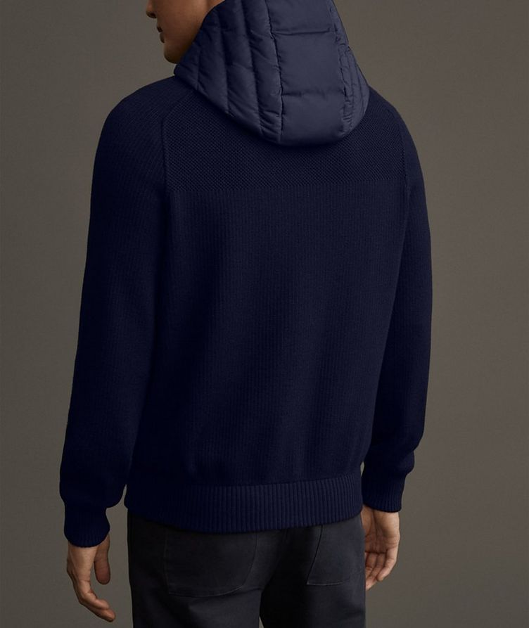 Black Label HyBridge Reversible Knit Hoodie image 6