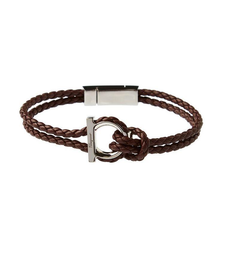 GanciniI Braided Leather Bracelet image 0