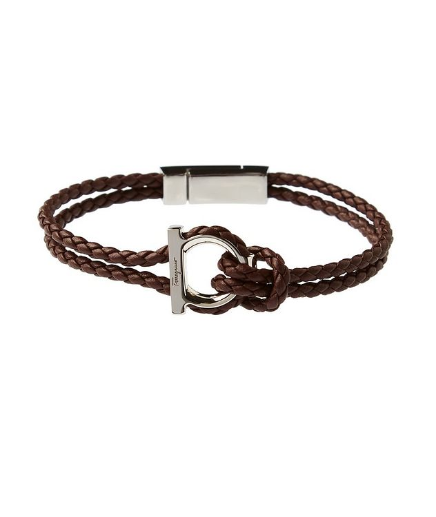 GanciniI Braided Leather Bracelet picture 1