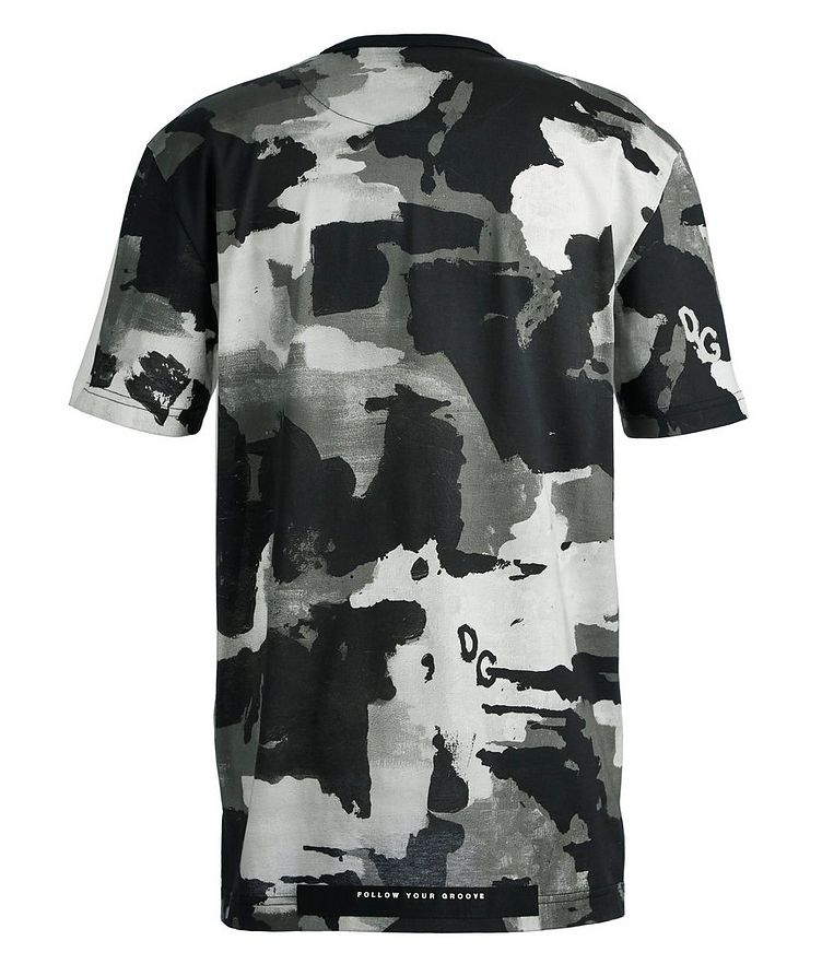 Printed Cotton T-Shirt image 1