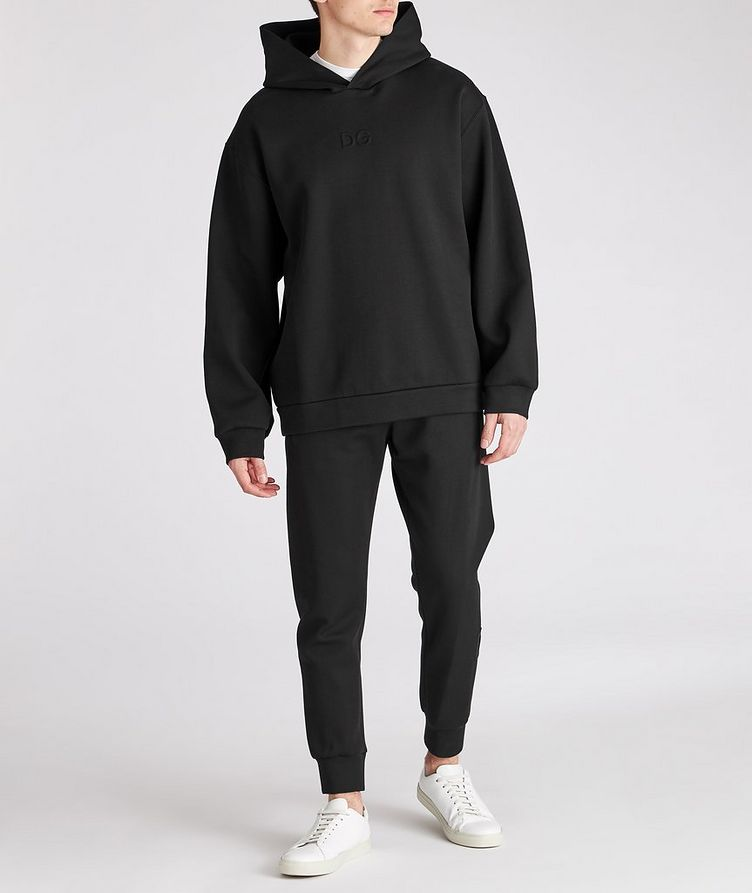 Oversized Stretch-Cotton Hoodie image 2
