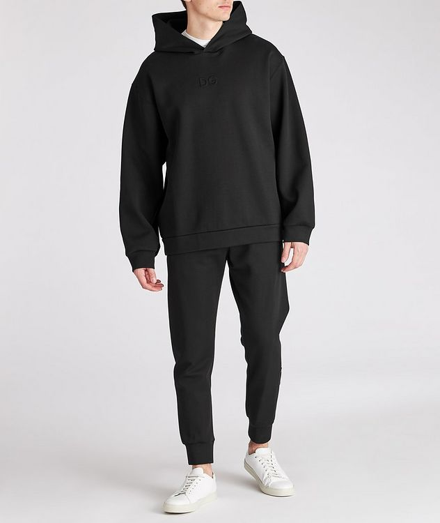Oversized Stretch-Cotton Hoodie picture 3