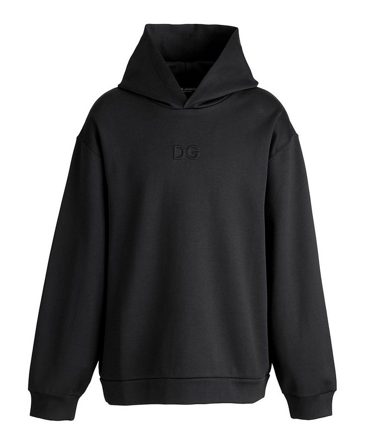 Oversized Stretch-Cotton Hoodie image 0