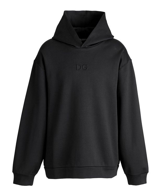 Oversized Stretch-Cotton Hoodie picture 1