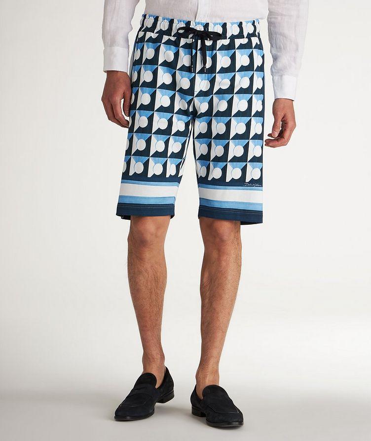 Gio Ponti Cotton Shorts image 2