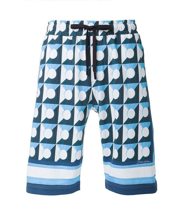 Gio Ponti Cotton Shorts image 0