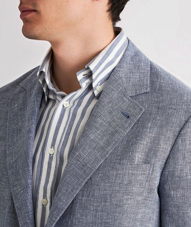 Linen, Wool, and Silk Sports Jacket picture 4