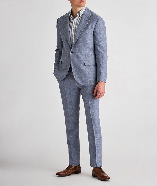 Linen, Wool, and Silk Sports Jacket picture 5
