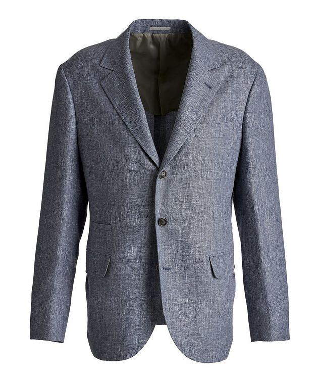 Linen, Wool, and Silk Sports Jacket picture 1