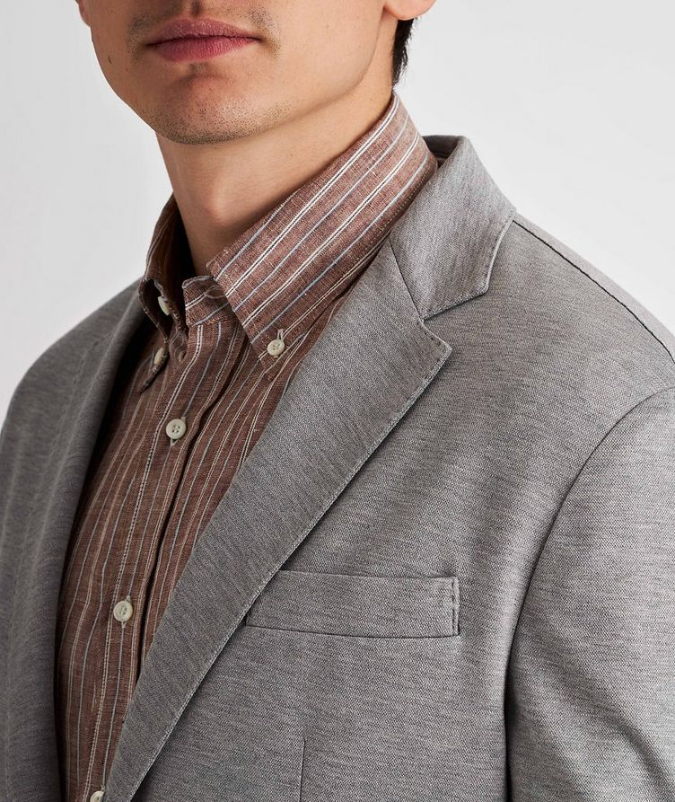 Silk-Cotton Sports Jacket image 3