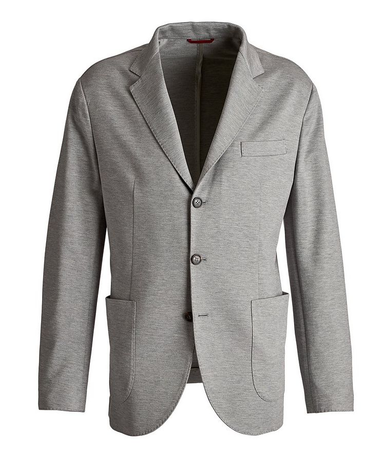 Silk-Cotton Sports Jacket image 0