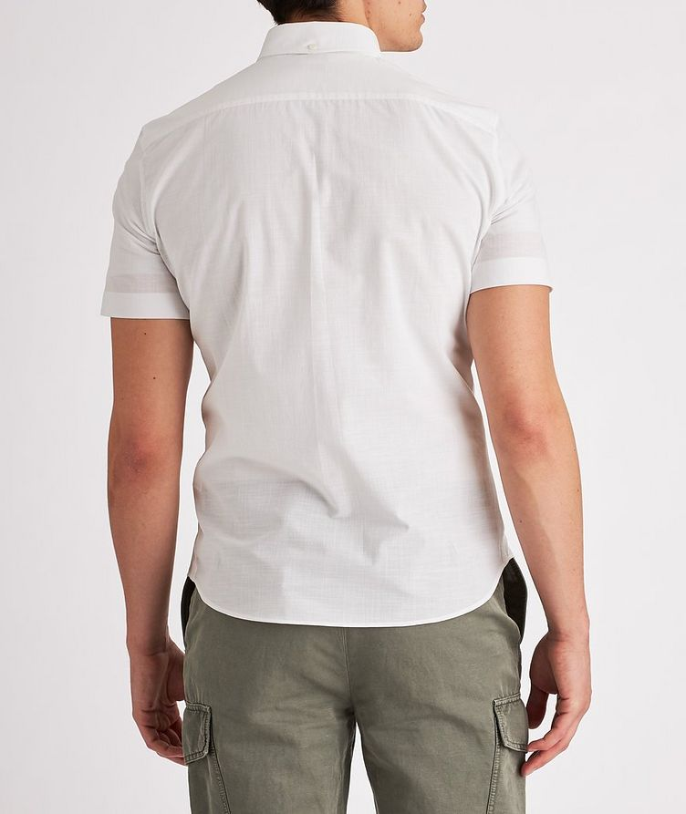Contemporary-Fit Short-Sleeve Cotton Shirt image 2