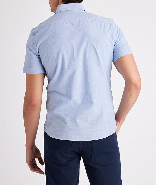 Contemporary-Fit Short-Sleeve Cotton Shirt picture 3
