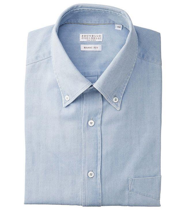 Contemporary Fit Cotton Shirt picture 1