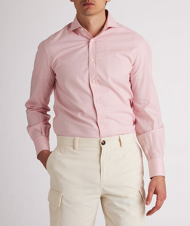 Contemporary-Fit Cotton Shirt picture 2