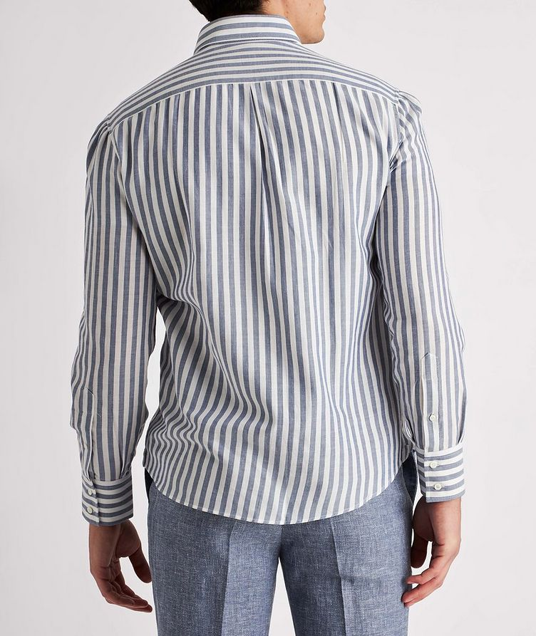 Contemporary-Fit Striped Cotton Shirt image 2