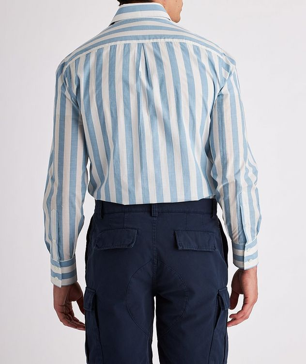 Contemporary-Fit Striped Cotton Shirt picture 3