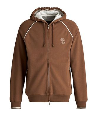 Brunello Cucinelli Zip-Up Hoodie