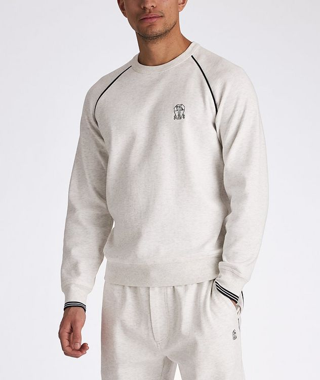 French Terrycloth Sweatshirt picture 2