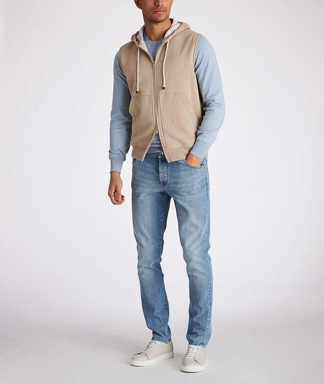 Zip-Up Hooded Vest picture 5