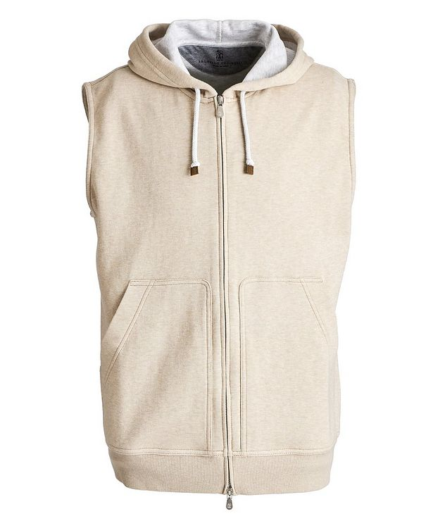Zip-Up Hooded Vest picture 1