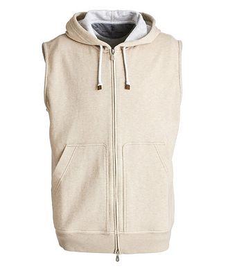 Brunello Cucinelli Zip-Up Hooded Vest