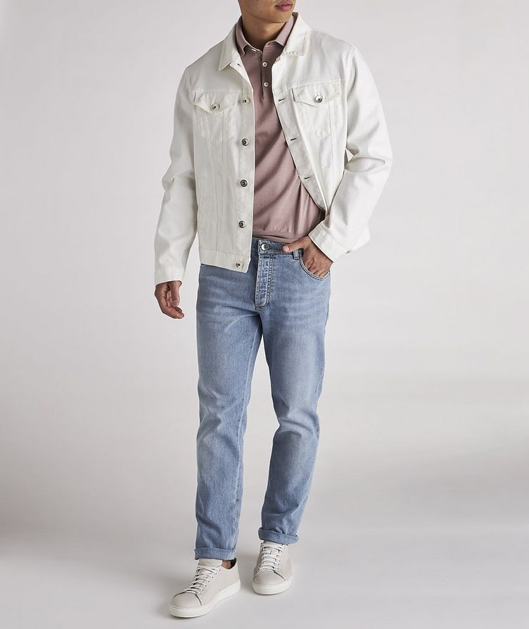 Skinny-Fit Stretch-Cotton Jeans image 1
