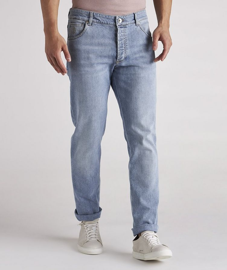 Skinny-Fit Stretch-Cotton Jeans image 2