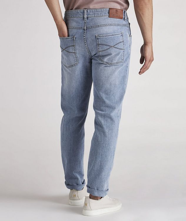 Skinny-Fit Stretch-Cotton Jeans picture 4