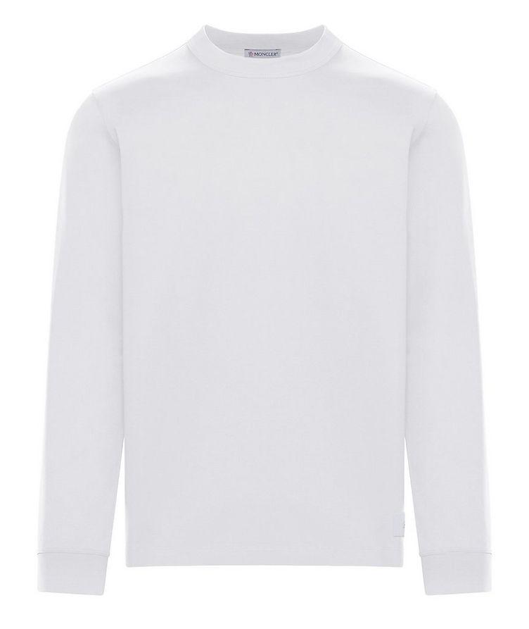 Cotton Jersey Long Sleeve T-Shirt image 0