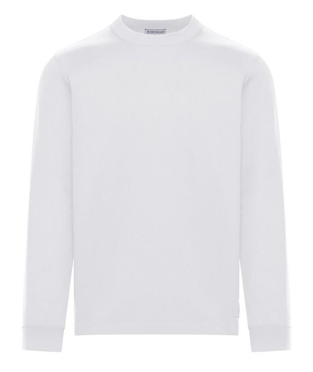 Cotton Jersey Long Sleeve T-Shirt picture 1