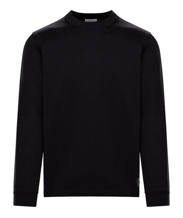 T-shirt en jersey de coton à manches longues picture 1