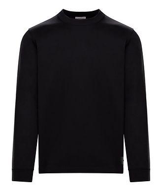 Moncler Cotton Jersey Long Sleeve T-Shirt